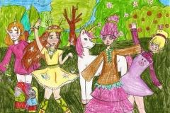 Taniec-rusałek